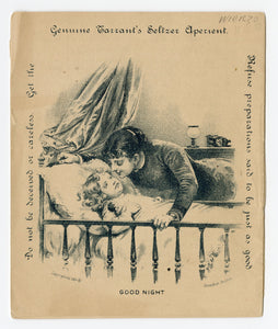 1884 Tarrant's Seltzer Aperient, A Day of an Infant, Promotional Booklet