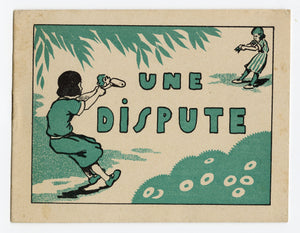 """Une Dispute"" French Promotional Booklet for Wood-Milne Rubber Heels and Soles"