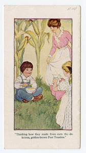 1914 Post Toasties Cereal, Tale of the Toastie Elfins, Promotional Children's Book