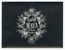 Load image into Gallery viewer, Vintage, Unused SAVON MAYA French Soap Label Set || Small and Large
