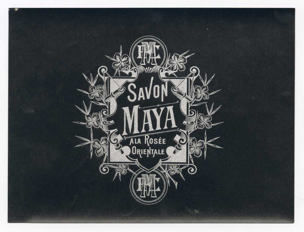 Vintage, Unused SAVON MAYA French Soap Label Set || Small and Large