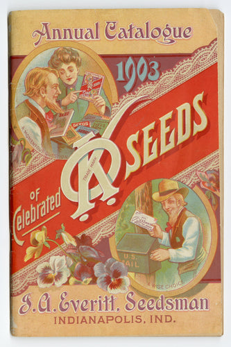 1903 Antique KO SEED CATALOG, Indianapolis, Ind., Gardening, Farming, Flowers