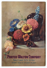 Load image into Gallery viewer, 1925 Porter-Walton SEED & NURSERY BOOK, Plant, Flower, Farming Catalog