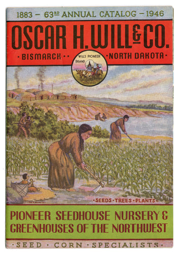 1946 Vintage OSCAR H. WILL Seed Catalog, Bismark, ND, Gardening, Farming, Plants