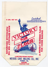Load image into Gallery viewer, Vintage, Unused VICTORY Brand Flower Bag, Statue of Liberty || Purdy, Va.