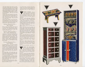 1928 Art Deco Decorating LE PAGE'S CRAFT CREATION IN THE MODERN MANNER Art Book