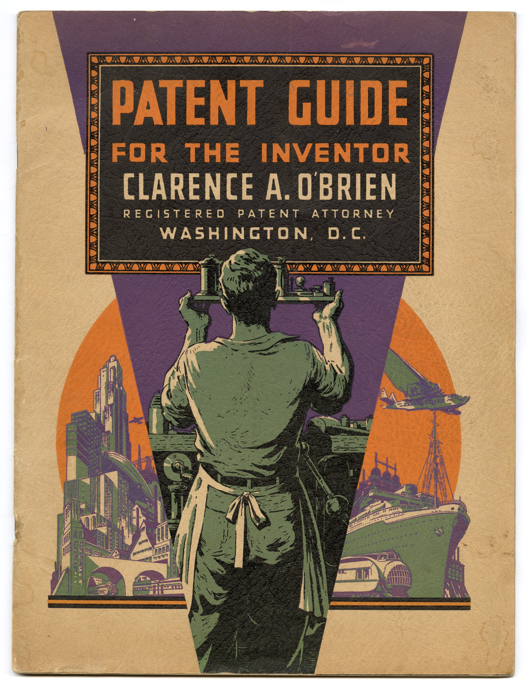 1930's Patent Guide for the Inventor Catalog, Magazine, Book, Art Deco\