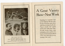 Load image into Gallery viewer, 1920's Antique ORPHEUM CIRCUIT Theater News & Program, San Francisco, Local Ads