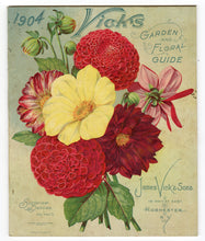 Load image into Gallery viewer, 1904 VICK'S GARDEN & FLORAL GUIDE, Seed Catalog, Dahlias, Flowers, Farm