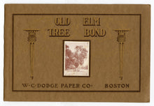 Load image into Gallery viewer, 1910's-1920's Antique OLD ELM TREE BOND Paper Sample Book