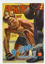 Load image into Gallery viewer, 1950 August REKORD MAGAZINE, German Boxing, Sports, Arne Andersson