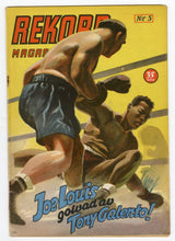 Load image into Gallery viewer, 1951 February REKORD MAGAZINE, German Boxing, Sports, Joe Louis, Tony Galento