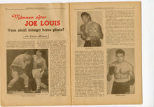 Load image into Gallery viewer, 1950 March REKORD MAGAZINE, German Boxing, Sports, Joe Louis, Jack Gardner
