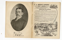 Load image into Gallery viewer, 1907 Antique G.G. GREEN'S ALMANAC, Promotional Information Book