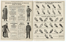 Load image into Gallery viewer, 1914 A CATALOG OF GOOD VALUES, Edwardian Men's, Kids Fashion, Clothing