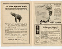 Load image into Gallery viewer, 1922 RINGLING BROS. & BARNUM & BAILEY CIRCUS Program, Magazine