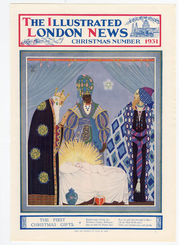 1931 ILLUSTRATED LONDON NEWS Christmas Edition COVER, Felix de Gray