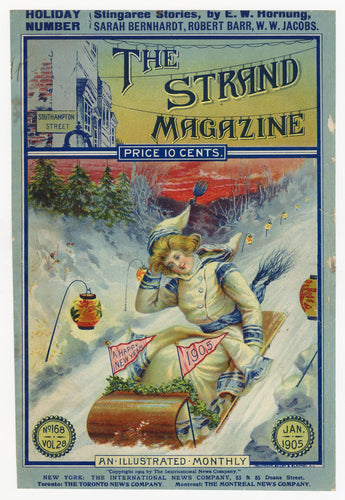 1905 THE STRAND MAGAZINE Holiday Number, Christmas, New Year, Sarah Bernhardt