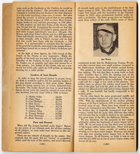 Load image into Gallery viewer, 1944 KINGS OF THE MOUND Pitcher's Rating Manual 1894-1944, Major League Baseball