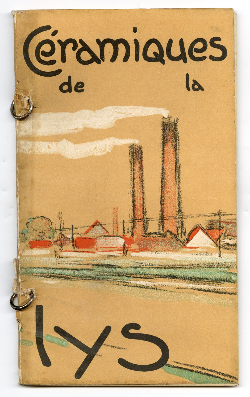 CERAMIQUES DE LA LYS, French Ceramics Catalog