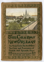 Load image into Gallery viewer, 1928 THE CHARMS OF NEW ORLEANS Travel Book, Autochrome, Mardi Gras