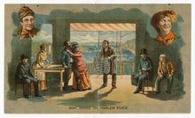 Load image into Gallery viewer, Antique 1890's SHADOWS OF A GREAT CITY Play, Advertising Trade Card, Theater
