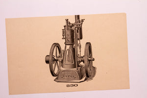 Old Letterpress and Printing Equipment Original Drawings | Presses #350 Hercules