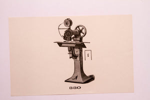Old Letterpress and Printing Equipment Original Drawings | Presses #330