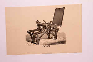 Old Letterpress and Printing Equipment Original Drawings | Presses #310