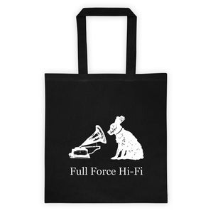 "Full Force HiFi ""His Master's Voice"" Record Tote Bag Tote bag"