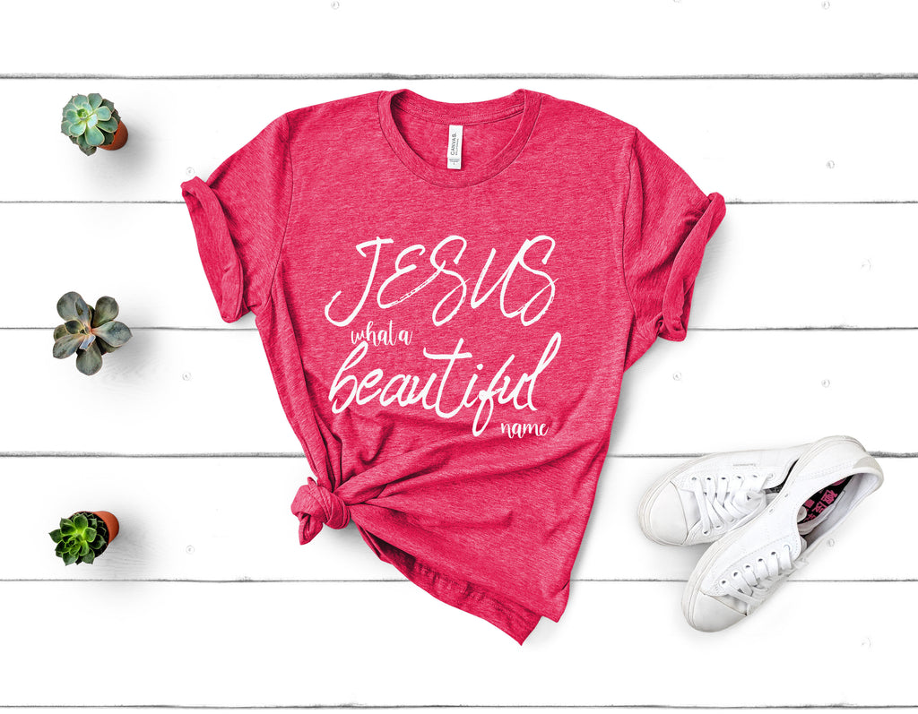 Jesus What a Beautiful Name Tee