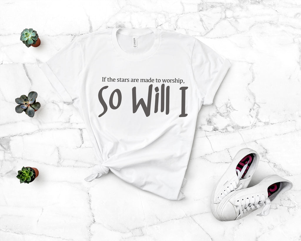 So Will I Short Sleeve Tee