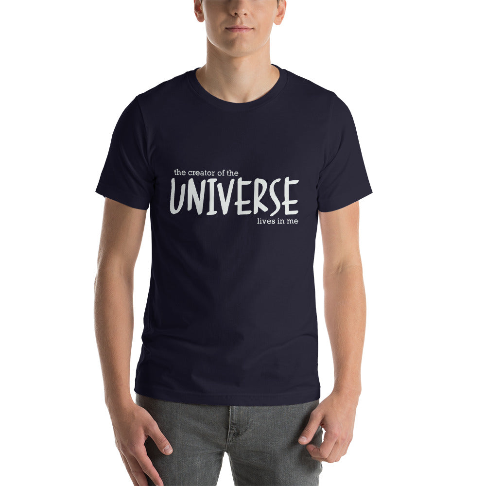 The Creator of the Universe Short-Sleeve Unisex T-Shirt