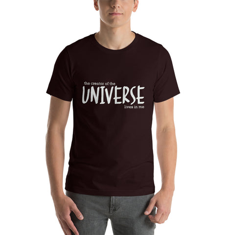 Image of The Creator of the Universe Short-Sleeve Unisex T-Shirt