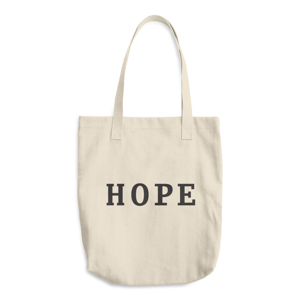 Hope Cotton Tote Bag