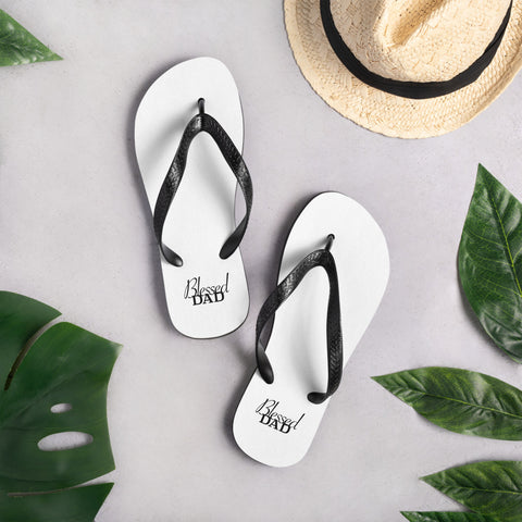 Image of Blessed Dad Flip-Flops