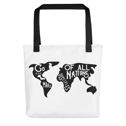 Go and make disciples Tote bag