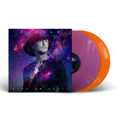 Here on Earth Exclusive Vinyl-Tim McGraw
