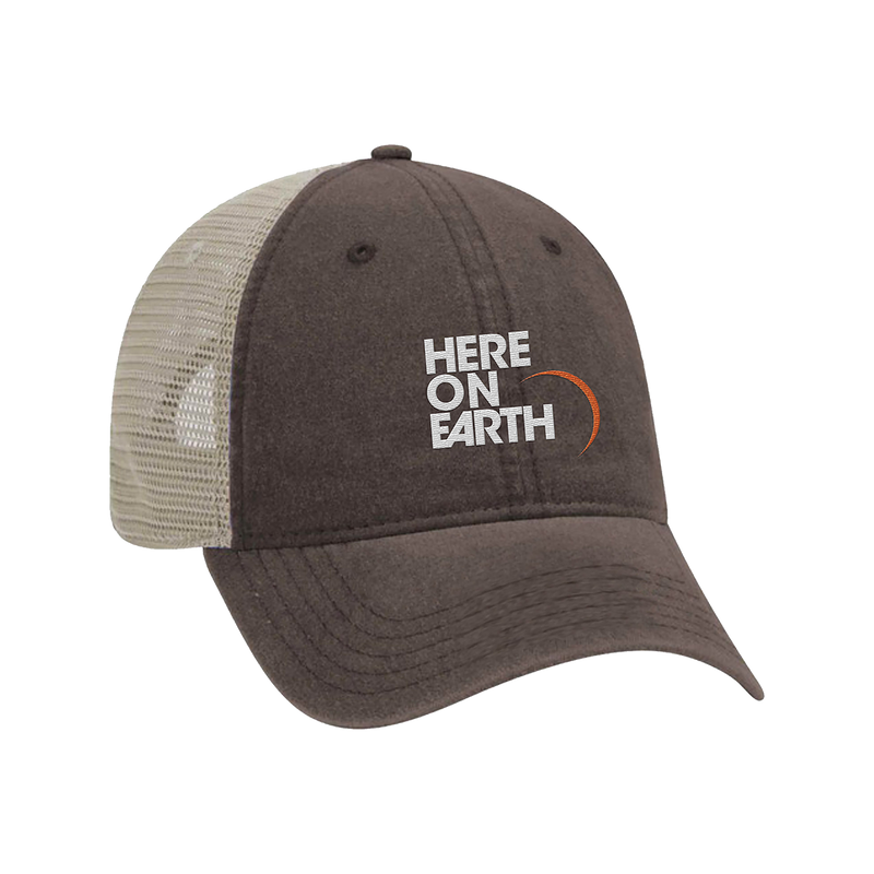Here on Earth Trucker Hat