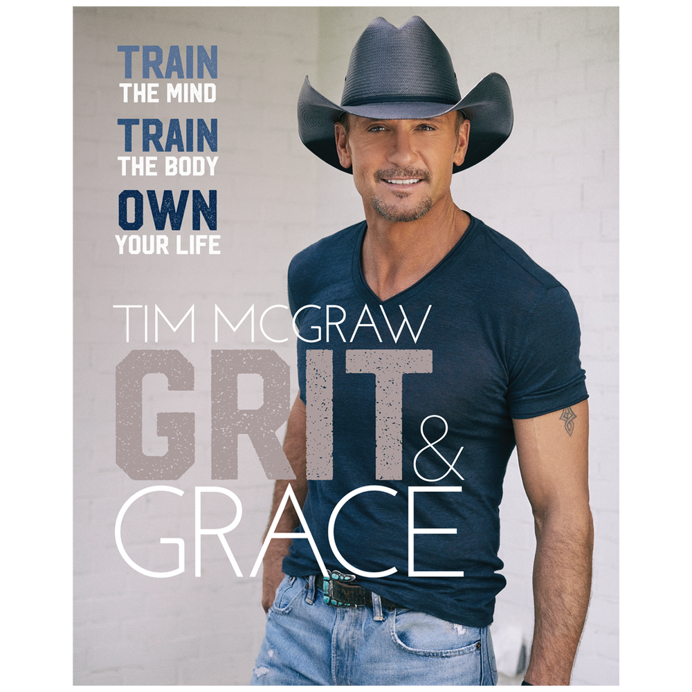 Grit & Grace Book + Tee + Tote Bag-Tim McGraw