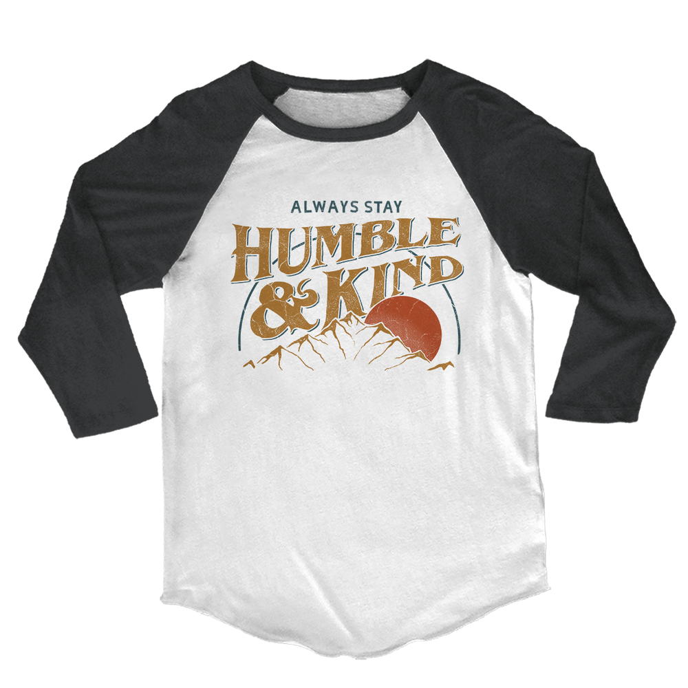Humble & Kind 3/4 Sleeve Tee