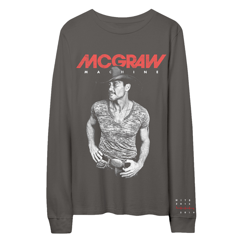 McGraw Machine Hits Longsleeve