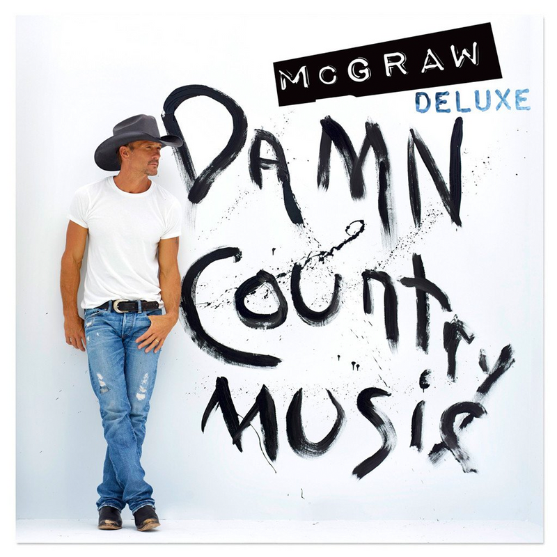 Damn Country Music Deluxe CD-Tim McGraw