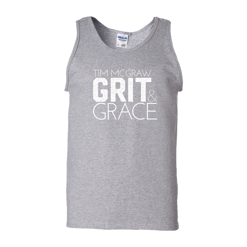 Grit & Grace Men's Tank-Tim McGraw