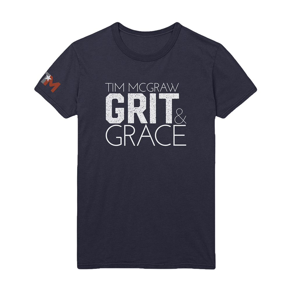 Grit & Grace Unisex Tee-Tim McGraw