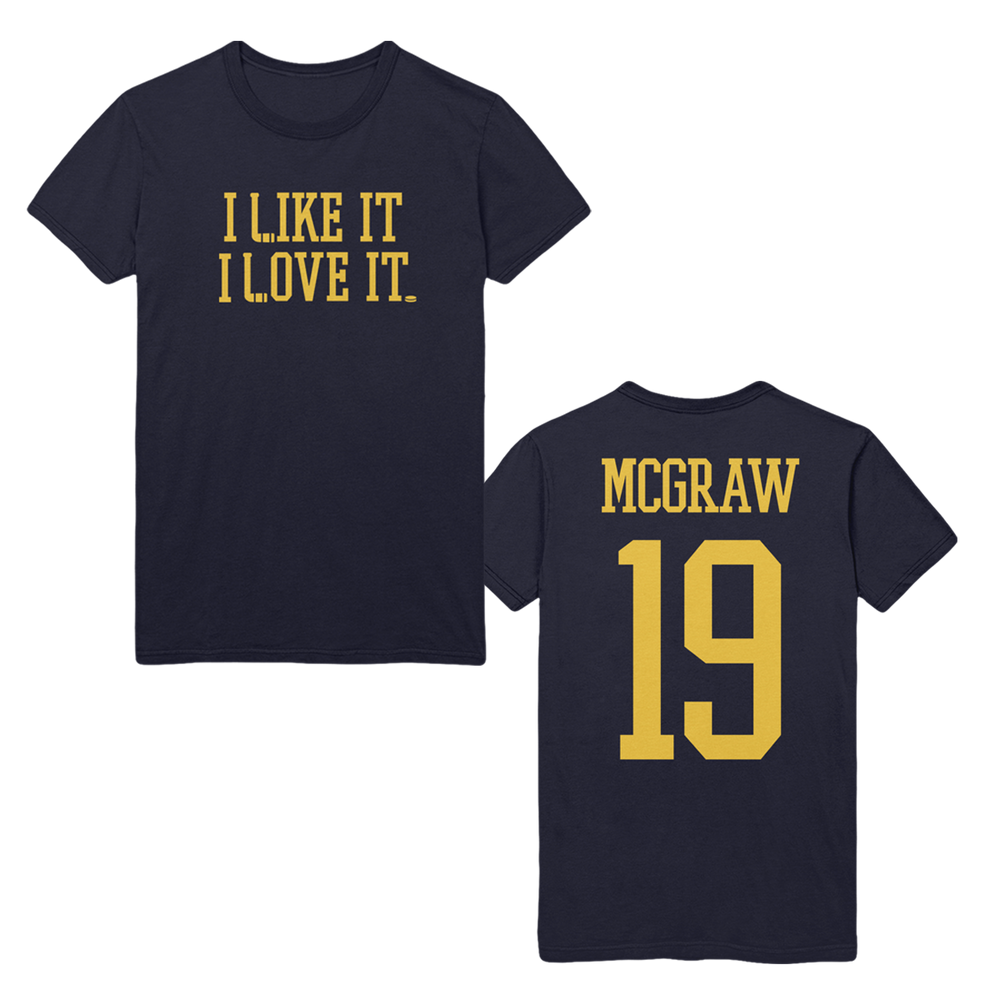 'I Like It I Love It' Hockey Tee-Tim McGraw