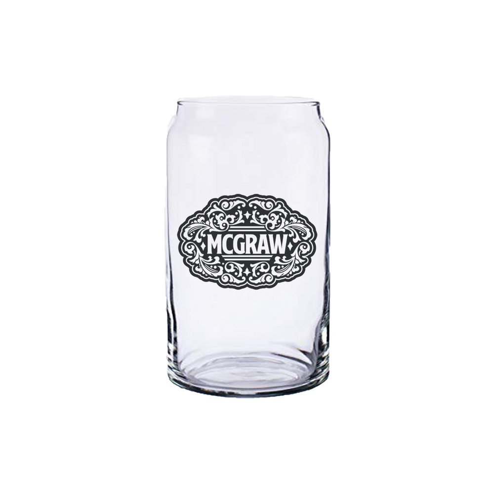 McGraw Soda Can Glass-Tim McGraw