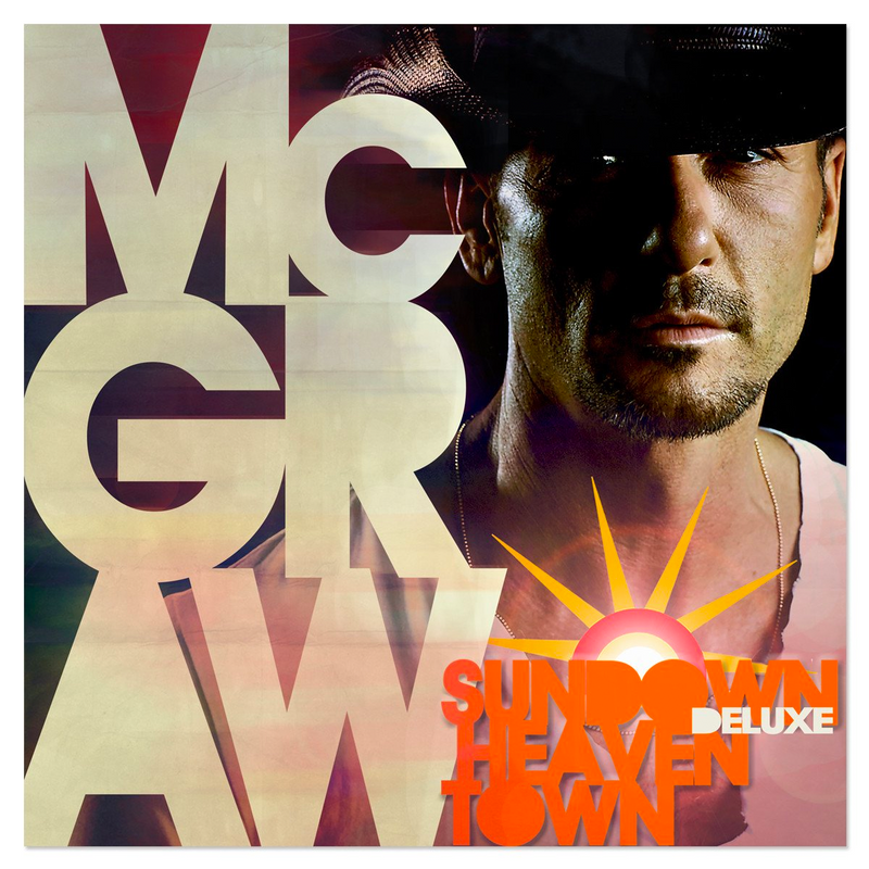 Sundown Heaven Town Deluxe CD-Tim McGraw