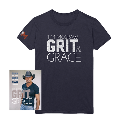 Grit & Grace Book + Tee-Tim McGraw