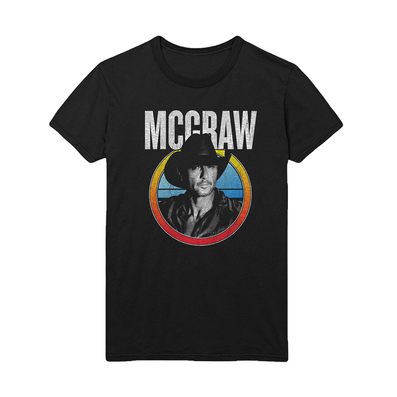 MCGRAW Photo Tee-Tim McGraw